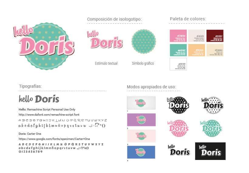 Diseño Gráfico - Hello Doris