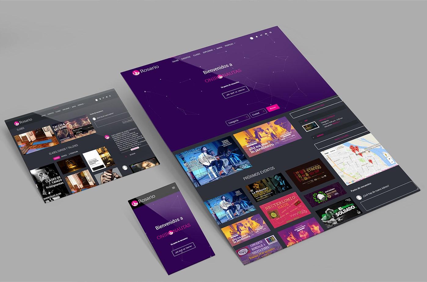 Diseño y Desarrollo Web - Onironautas